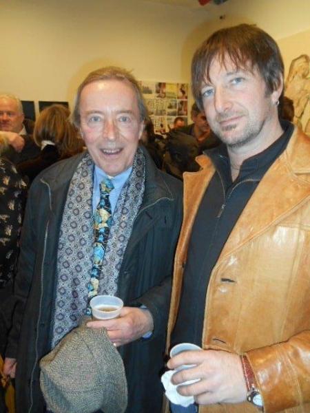 John Wegorzewski and artist Jeff Muhs