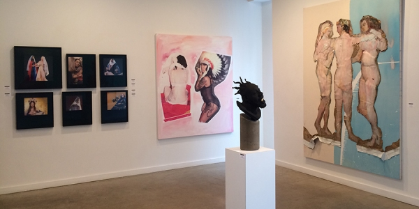 Photo Flash: East Comes West as Hamptons Artists Shine in Chelsea in SEEKING ENGAGEMENT NSA