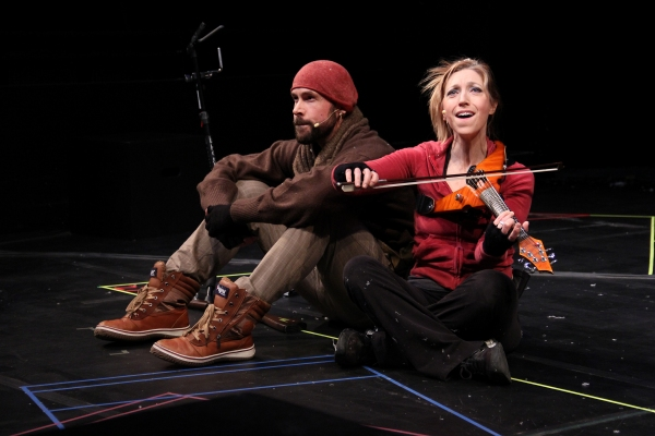 Photo Flash: Valerie Vigoda and Wade McColllum in ACT's ERNEST SHACKLETON LOVES ME
