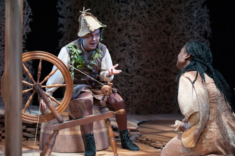 BWW Reviews: Imagination Stage's RUMPELSTILTSKIN is Brilliantly Executed but Script is Disturbing