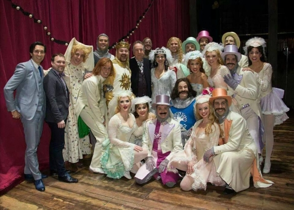 Photo Flash: Saturday Intermission Pics, Feb 8 - Cast Member Does Double Duty in PAGEANT and BEAUTIFUL, Plus BRIDGES and More!