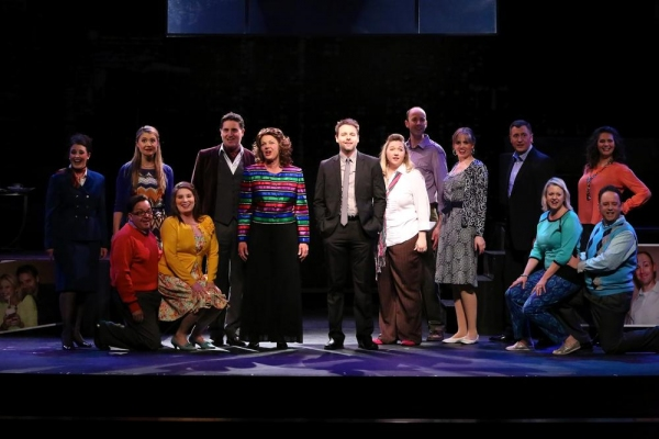 Maggie Gremminger, Katie Bartow, Kipp Simmons, Cathy Wood, Joel Morrison, Laura Roose, Mark Murphy, Whitney Armstrong, John Edmonds, Samantha Agron.  From left, kneeling, Curt Crespino, Lyndsey Agron, Jan Lord, Kevin Bogan