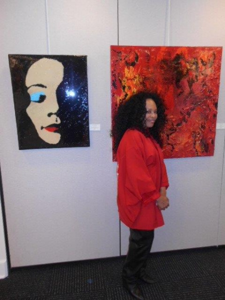 Photo Flash: Look Back - Black History Month Double Celebration at Southampton Cultural Center Curated by Tina Andrews
