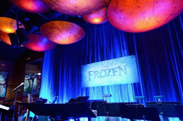 Photo Flash: Menzel, Gad & More Reunite to Celebrate Music of FROZEN