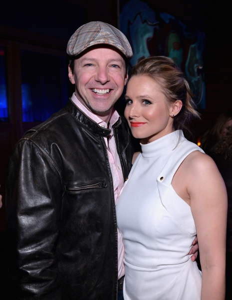 LOS ANGELES, CA - FEBRUARY 09:  Actor Sean Hayes (L) and actress Kristen Bell attend The Celebration Of The Music Of Disney''s ''Frozen''. FOR THE FIRST TIME IN FOREVER, the music of Disney''s �¿�Frozen�¿� was celebrated with live performances at Los Ange
