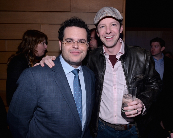 LOS ANGELES, CA - FEBRUARY 09: Actors Josh Gad (L) and Sean Hayes attend The Celebration Of The Music Of Disney''s ''Frozen''. FOR THE FIRST TIME IN FOREVER, the music of Disney''s �¿�Frozen�¿� was celebrated with live performances at Los Angeles�¿� Vibra