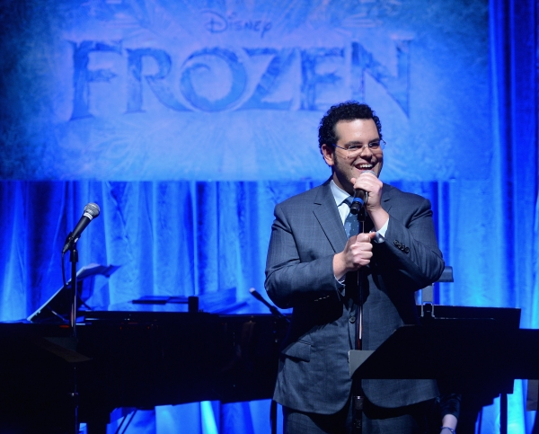 LOS ANGELES, CA - FEBRUARY 09:  FOR THE FIRST TIME IN FOREVER, the music of Disney''s ï�¿½Frozenï�¿½ was celebrated with live performances at Los Angelesï�¿½ Vibrato Grill Jazz club tonight. Kristen Bell (voice of Anna), Idina Menzel (voice of Elsa)