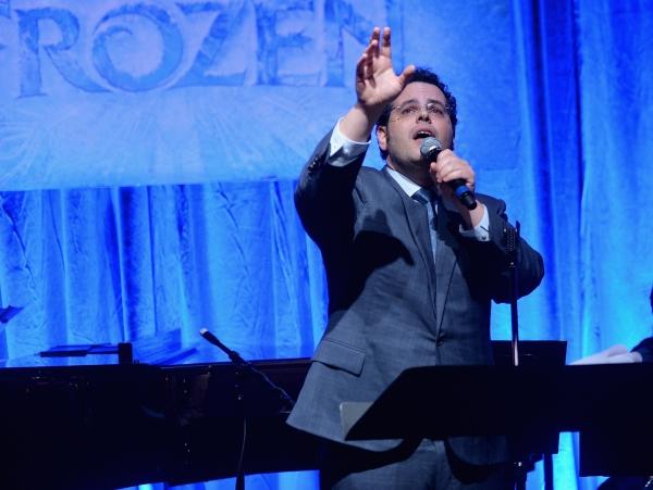 Photo Flash: Menzel, Gad & More Reunite to Celebrate Music of FROZEN