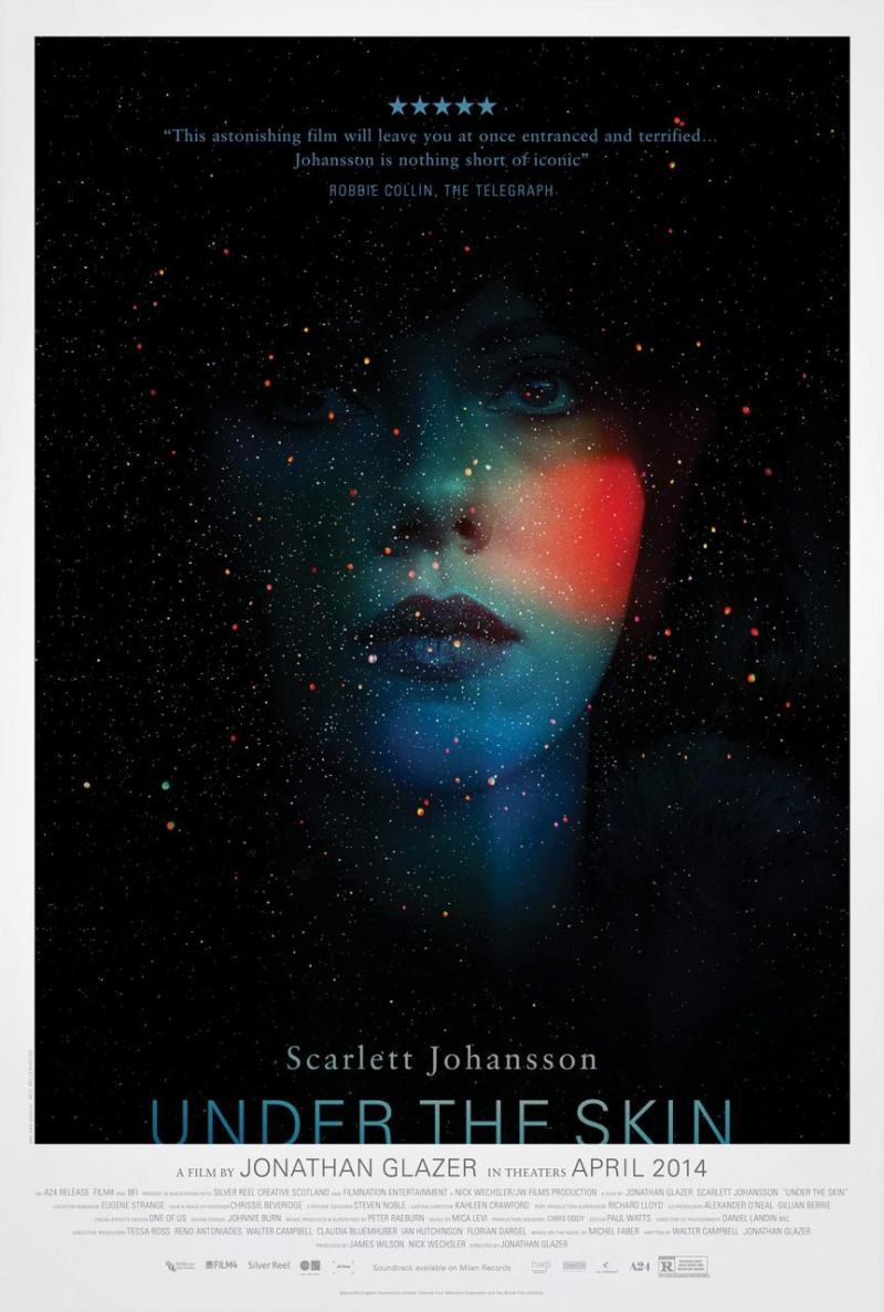 First Look - Scarlett Johansson Featured in New Poster for Sci-fi Thriller UNDER THE SKIN