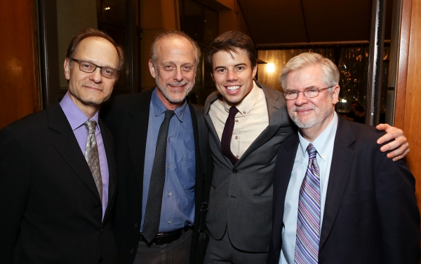 David Hyde Pierce, Mark Blum, David Hull, Christopher Durang