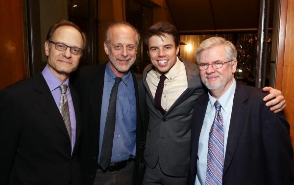 David Hyde Pierce, Mark Blum, David Hull, Christopher Durang