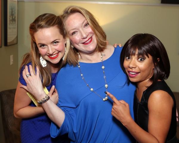 Liesel Allen Yeager, Kristine Nielsen, Shalita Grant