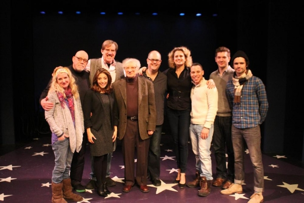 Megan Lawrence, Conrad John Schuck, Christina Bianco, Nick Wyman, Sheldon Harnick (co Photo