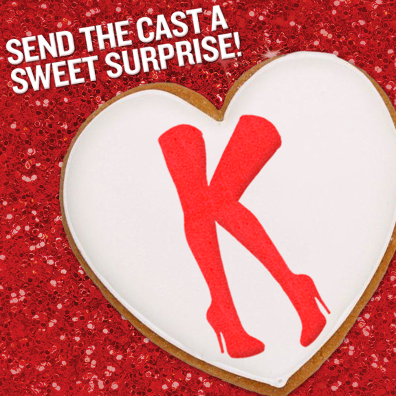 KINKY BOOTS Launches Valentine's Day Kinky Kookie Kompetition