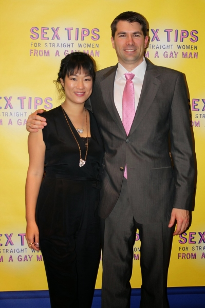 Playwright/producer Matt Murphy with wife, Julie Chang Murphy, who came up with the idea of staging an adaptation of SEX TIPS.