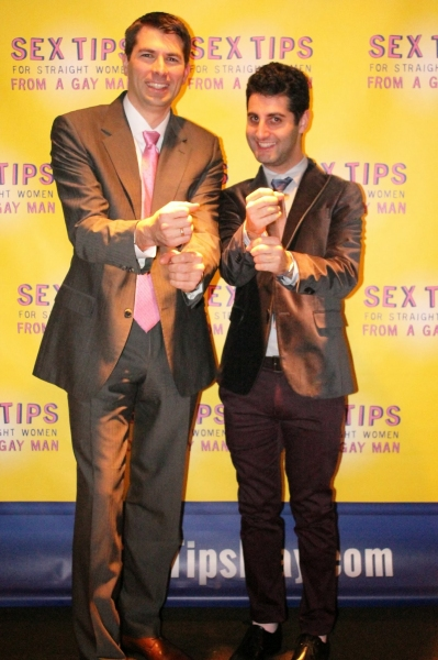 Playwright/producer Matt Murphy and director Tim Drucker show off what they''ve learned as the creative team behind SEX TIPS.