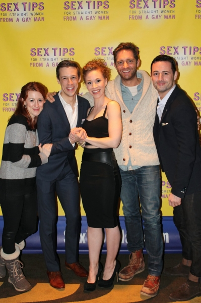 Kate Wetherhead, Jason Michael Snow, Lindsay Nicole Chambers, Colin Hanlon, and Max Von Essen.
