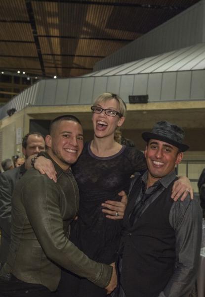 Nicholas Rodriguez, Erin Weaver and Nehal Joshi