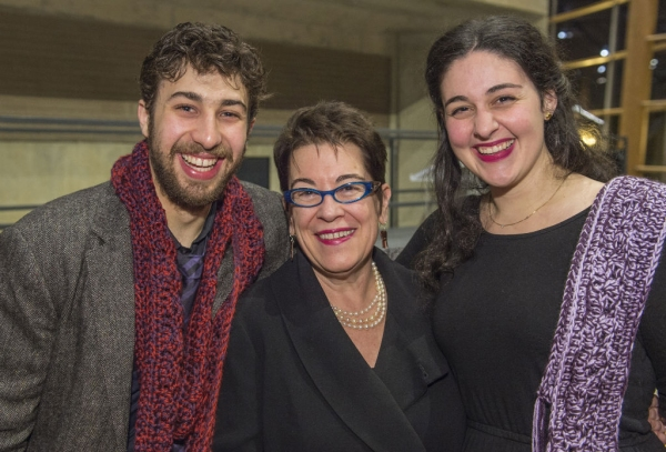 Jed Feder, Artistic Director Molly Smith and Directing Assistant Maria Edmundson  Photo