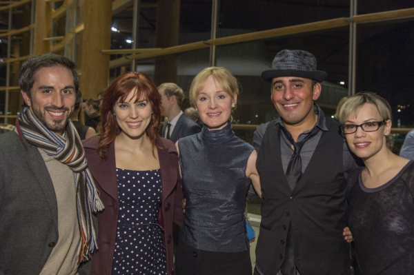 Nehal Joshi and Erin Weaver with guests