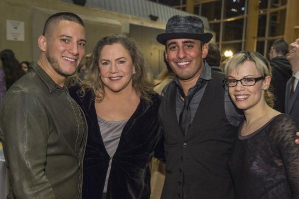 Nicholas Rodriguez, Kathleen Turner, Nehal Joshi and Erin Weaver