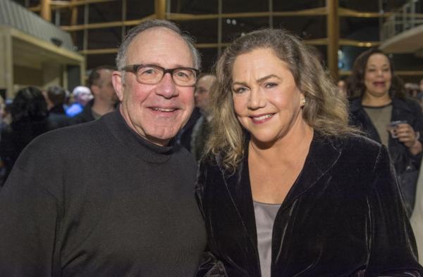 Rick Foucheux and Kathleen Turner