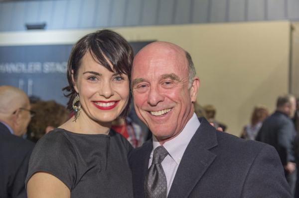 Meg Gillentine and John Leslie Wolfe