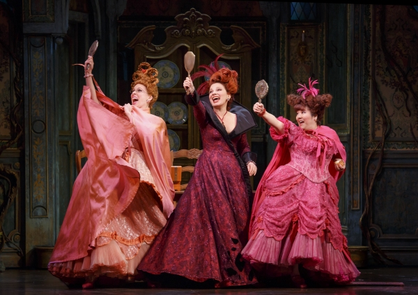 Photo Flash: First Look at Carly Rae Jepsen and Fran Drescher Onstage in CINDERELLA!