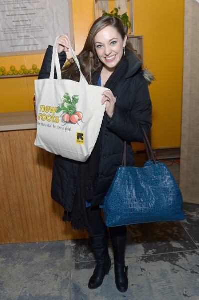Photo Flash: Broadway's Laura Osnes Visits IRC New Roots Pop-Up During NY Fashion Week