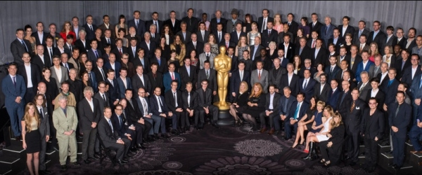 Photo Flash: Nominees Gather for 86th ACADEMY AWARDS Class Photo