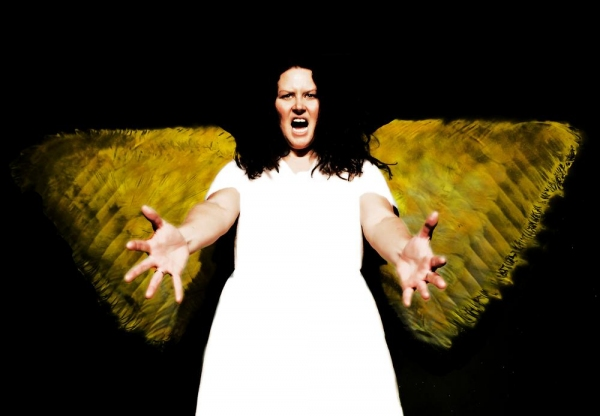 Photo Flash: The Angel Arrives at The Ringwald for ANGELS IN AMERICA: MILLENNIUM APPROACHES