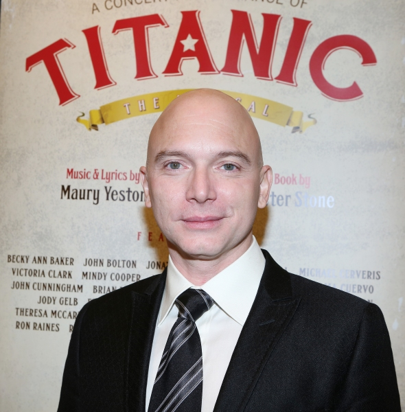 Photo Coverage: Meet the Company of TITANIC: THE MUSICAL Concert