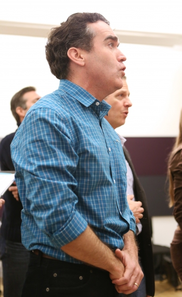 Photo Coverage: Sail On! In Rehearsal with Brian d'Arcy James, Jill Paice & the Cast of TITANIC