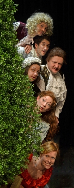 Photo Flash: Meet the Cast of Centenary Stage's THE LIAR