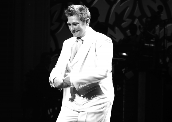 Photo Coverage: k.d. lang Joins Cast of AFTER MIDNIGHT- Inside Her First Curtain Call!
