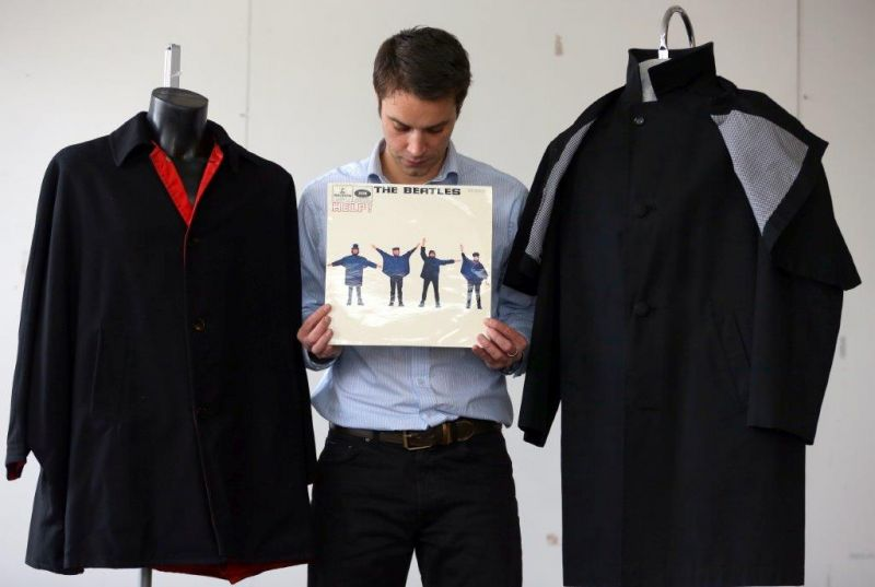 Jackets Worn by THE BEATLES in 'Help' Going Up for Auction