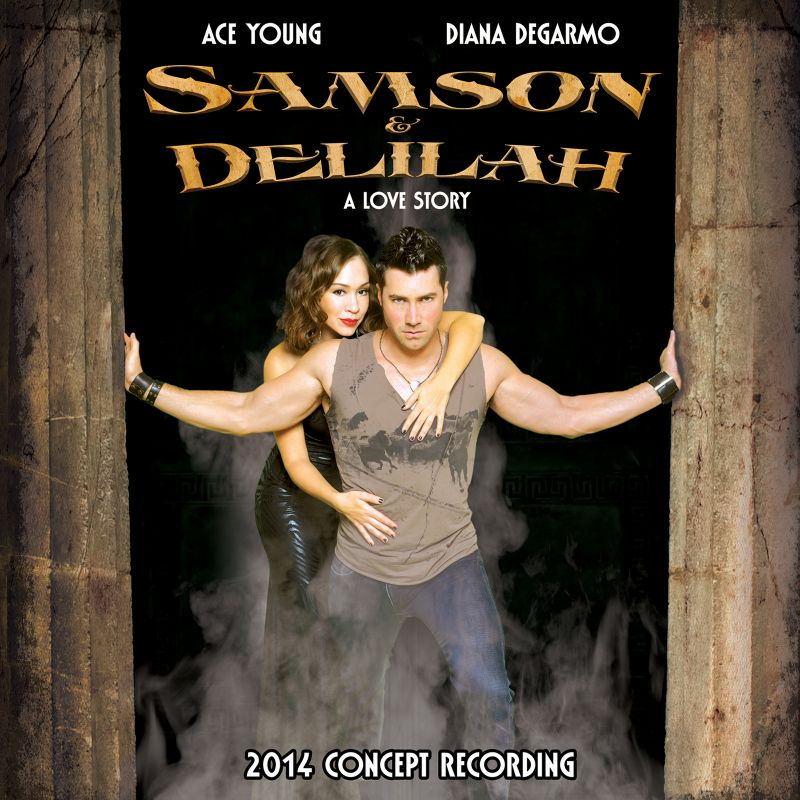 BWW CD Reviews: Broadway Records' SAMSON & DELILAH (2014 Concept Recording) is Mildly Entertaining and Unremarkable