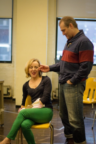 Photo Flash: In Rehearsal with MCC's HAND TO GOD
