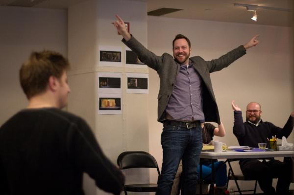 Director Moritz von Stuelpnagel & Playwright Robert Askins