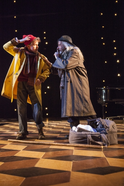 Brendan Spieth as Clown and Mark Nelson as Old Shepherd