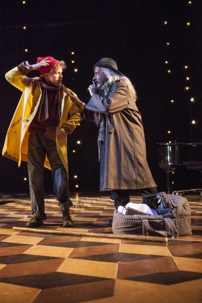Brendan Spieth as Clown and Mark Nelson as Old Shepherd Photo