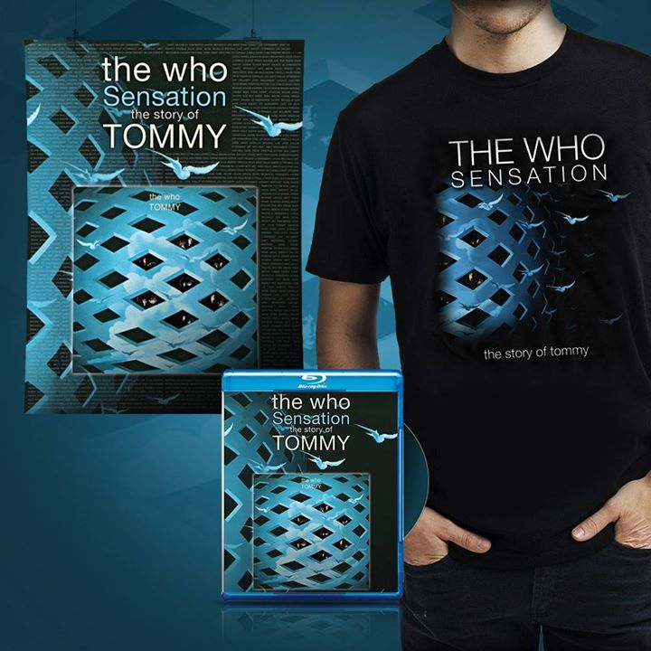 THE WHO'S SENSATION: THE STORY OF TOMMY Set For Blu-ray & DVD, Out 3/11