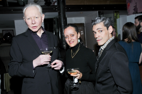 Joe Jackson, Isabel and Ruben Toledo Photo