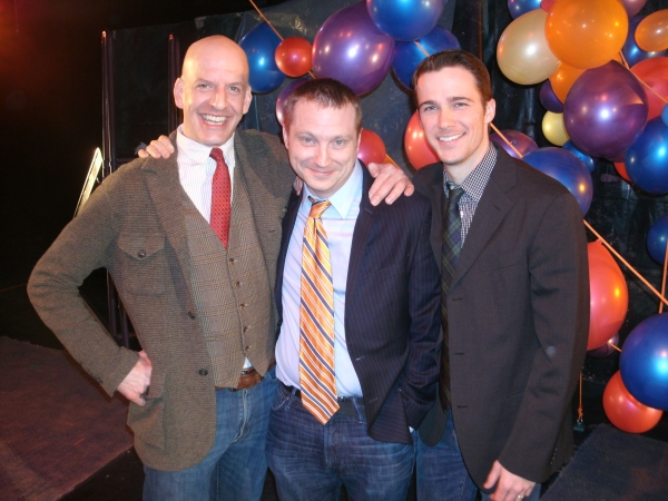 Blake Montgomery, Geoff Button, Michael Brown