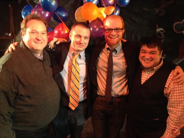 L. Walter Stearns, Geoff Button, Matt Deitchman, Eugene Dizon Photo