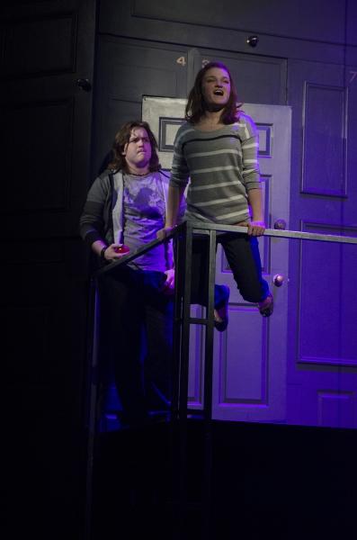 Grace Bydalek (Natalie) and Tom Gjere (Henry)