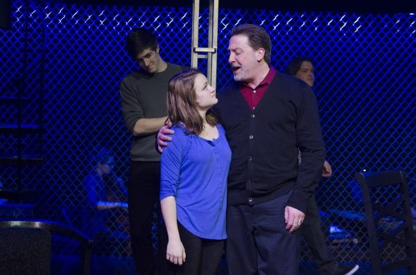 Sam Swerczek (Gabe), Grace Bydalek (Natalie) and Jeffrey Pierce (Dan)