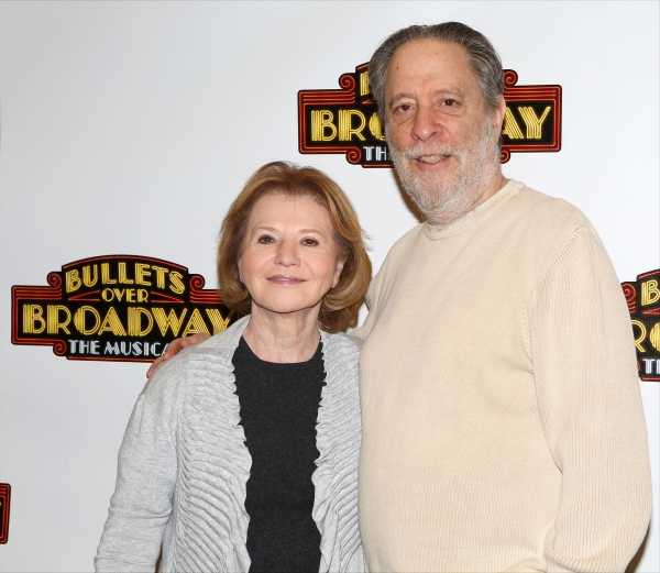 Producer Letty Aronson and Producer Julian Schlossberg  attend the Meet & Greet the cast of ''Bullets Over Broadway''  on February 13, 2014 at the New 42nd Street Studios in New York City.