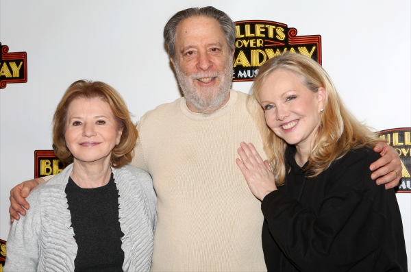 Producer Letty Aronson, Producer Julian Schlossberg and Director Susan Stroman