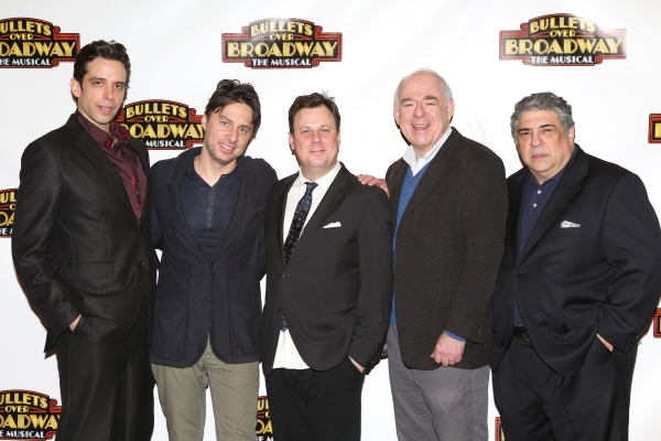 Photo Coverage: Company of BULLETS OVER BROADWAY Meets the Press!